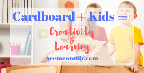 cardboard activities for kids