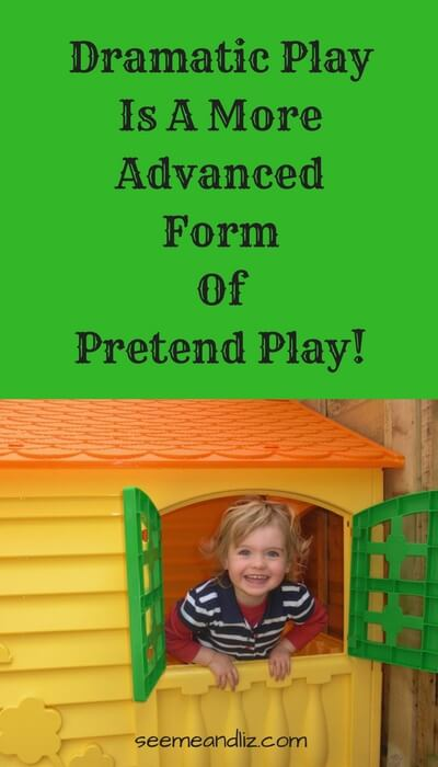 language development pretend play dramatic play is the most advanced form of play