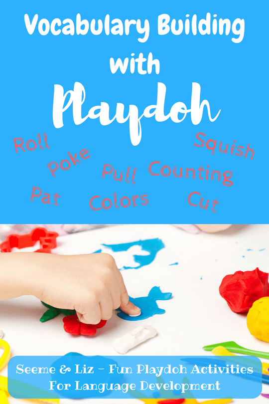 Playdough Learning Activities For Toddlers that will help with language development