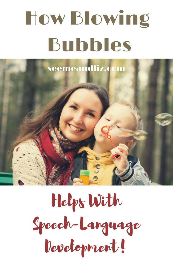 How Blowing Bubbles With Kids Helps With Speech-Language Development | Outdoor Learning Activities | Activities For Toddlers and Preschoolers