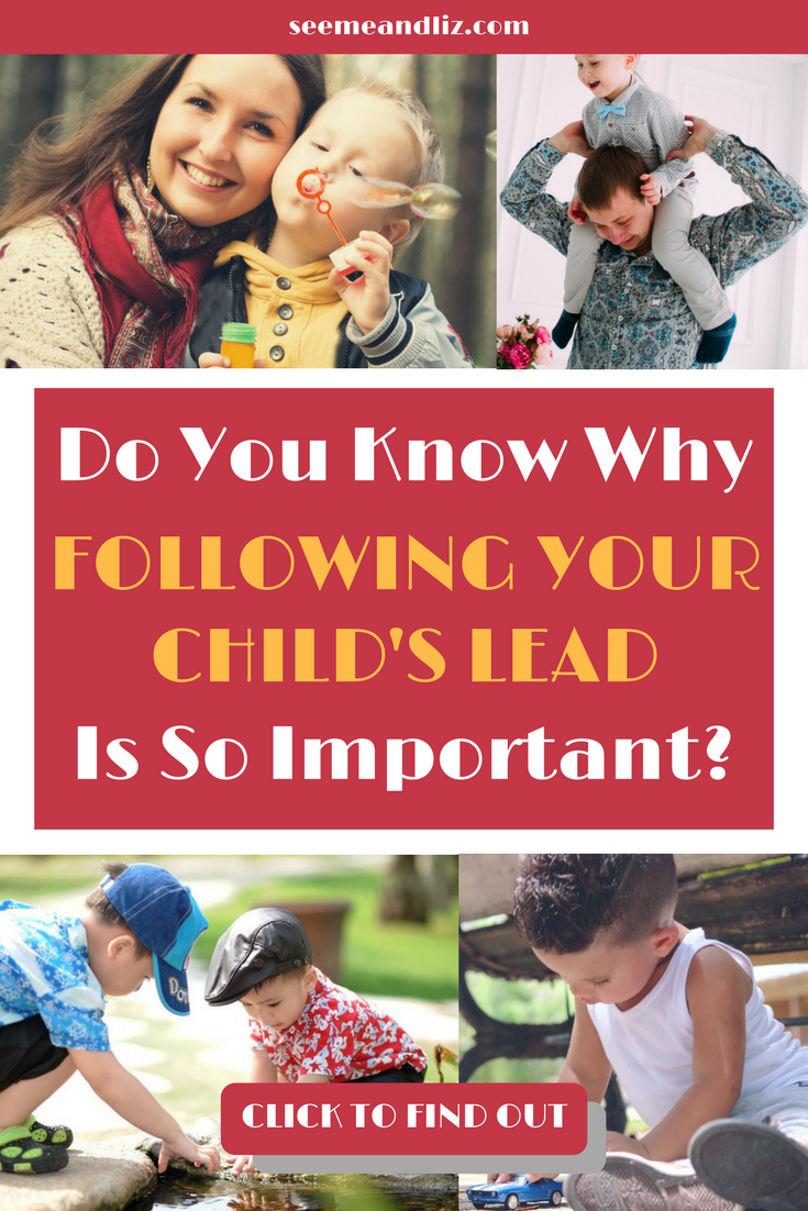 The importance of following a child's lead in play and how to do it! | #parentingtips | #childdevelopment | #learningthroughplay