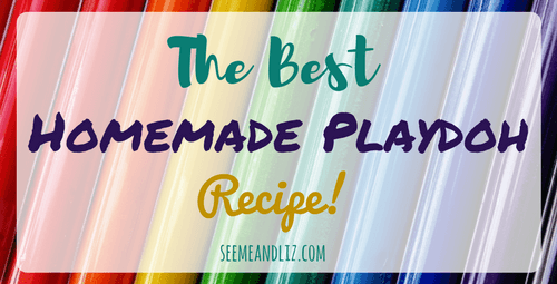 The Best homemade playdough recipe