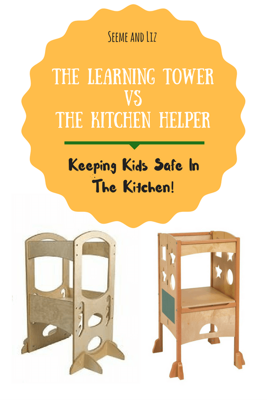 A Review of The Learning Tower VsThe Kitchen Helper - keeping kids safe in the kitchen