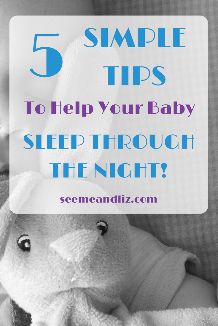 5 simple baby sleep tips you can implement today! | #babysleeptips | #babysleep | #parentingtips