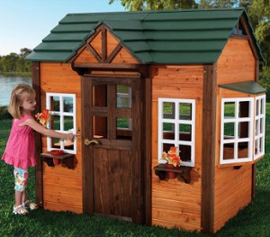Best outdoor playsets for kids KidKraft My Woodland Cottage