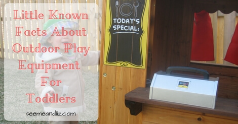 Little Known Facts About Outdoor Play Equipment For Toddlers