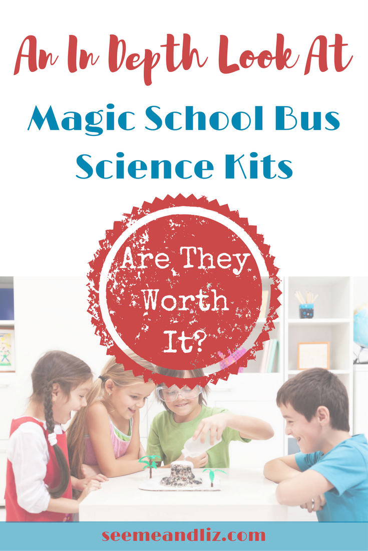 Science experiments for kids are great for natural learning. We have tried several of the Magic School Bus Science Kits and here is what we think about them