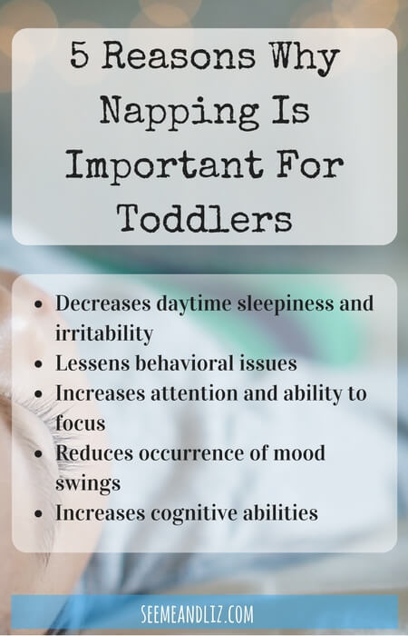 5 Reasons Why Napping Is Important For Toddlers - it's important to make naptime a priority for your child's development