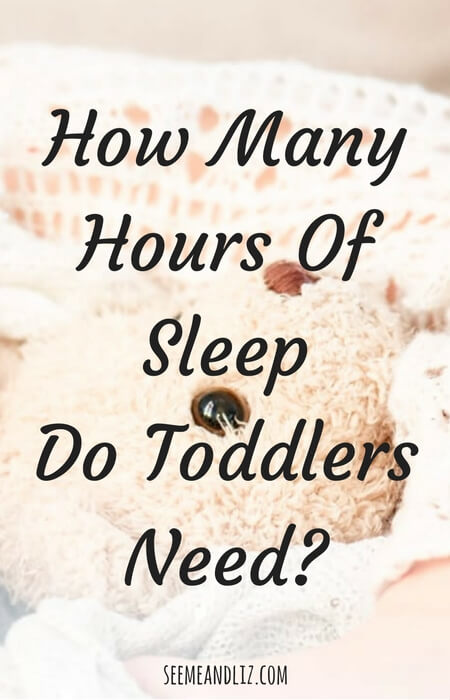 How Many Hours Of Sleep Do Toddlers Need? There is a range but...