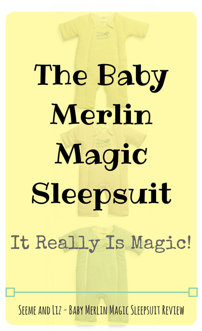 The Baby Merlin Magic Sleepsuit - A Review