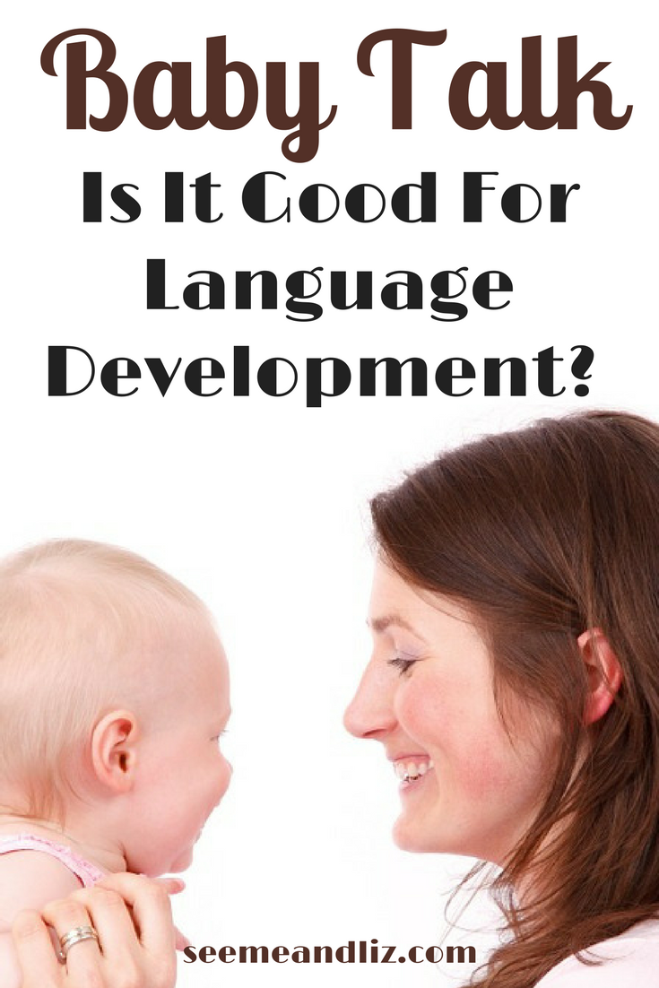 Tips to ensure your baby's speech-language skills are developing and how using baby talk plays a role in #childdevelopment