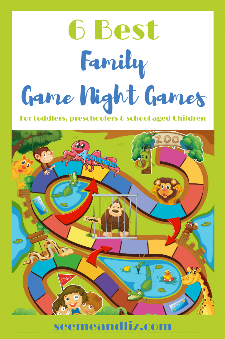 6 Best Family Game Night Games for 2-6 year old's. Find out how they facilitate speech and language development