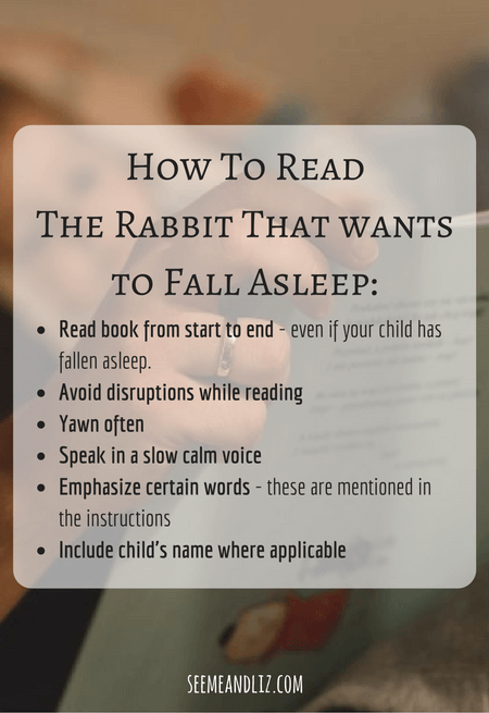 Bedtime story books for children - The rabbit who wants to fall asleep is the winner!