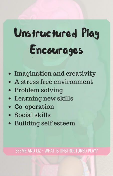 There are many benefits to unstructured play including increasing problem solving, social skills,...