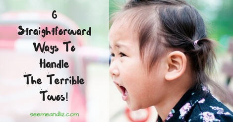 6 tips to handle the terrible twos