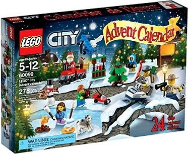 Lego city advent calendar 2015