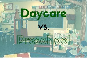 daycare vs preschool