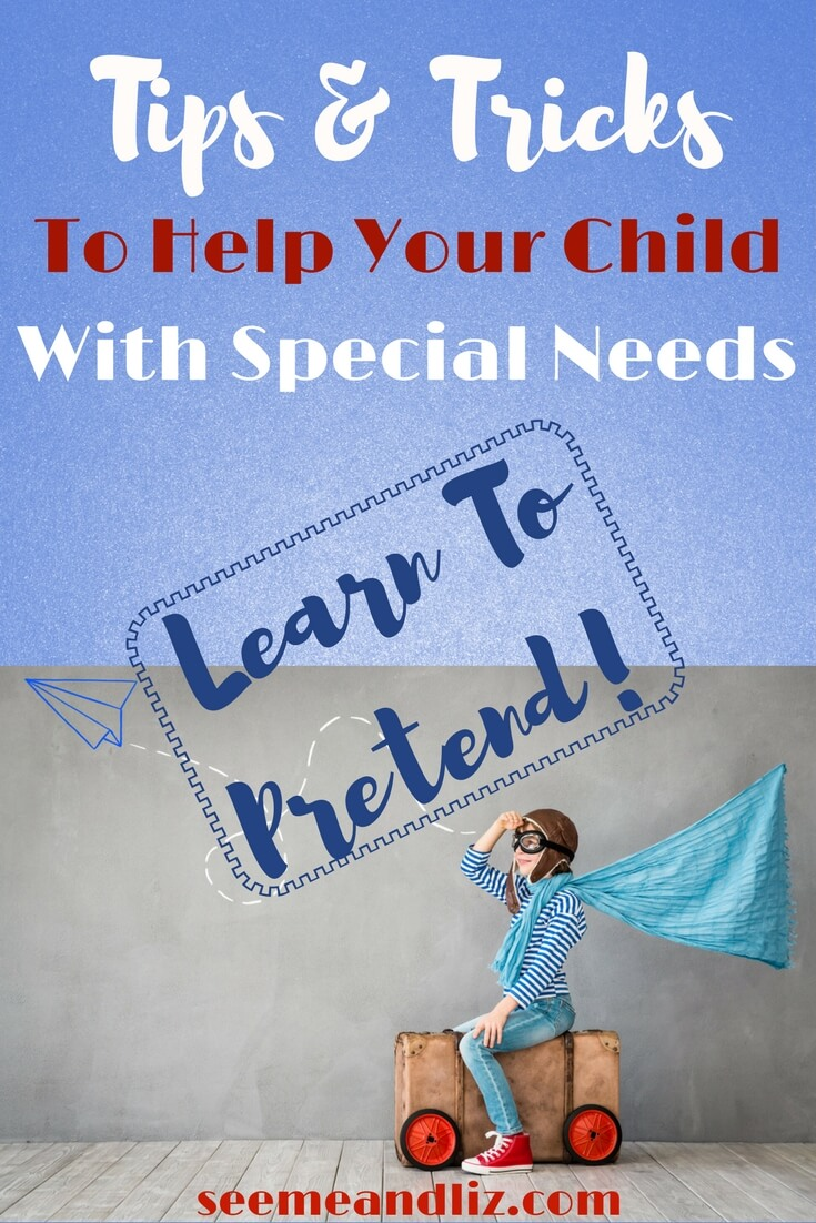 Pretend play is important for children with special needs. It will help with their language development and...