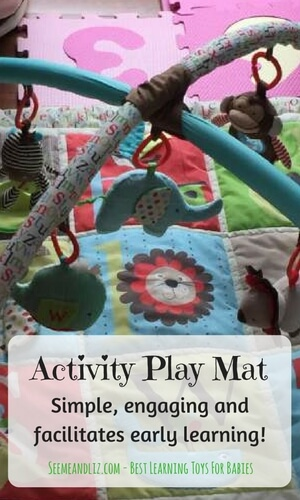 Baby activity play mats are a must have for your baby's development and learning.