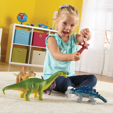 Dinosaur toys for toddlers -Learning Resources Jumbo Dinosaurs 2017