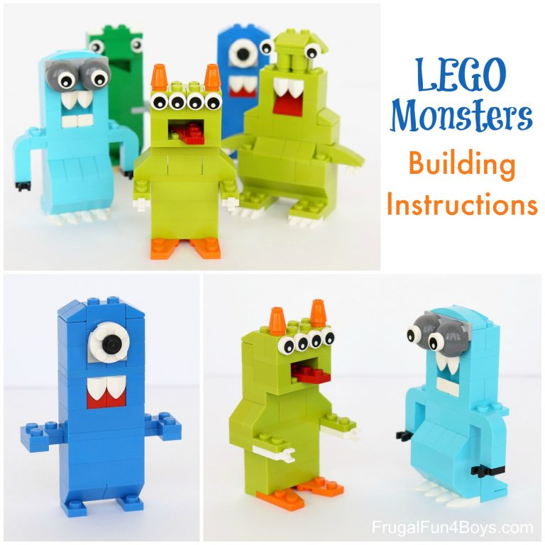 Lego Monsters For Kids