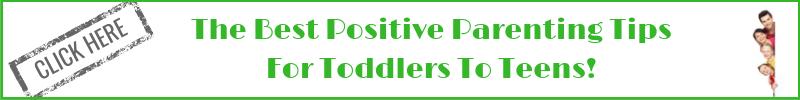 Best positive parenting tips banner