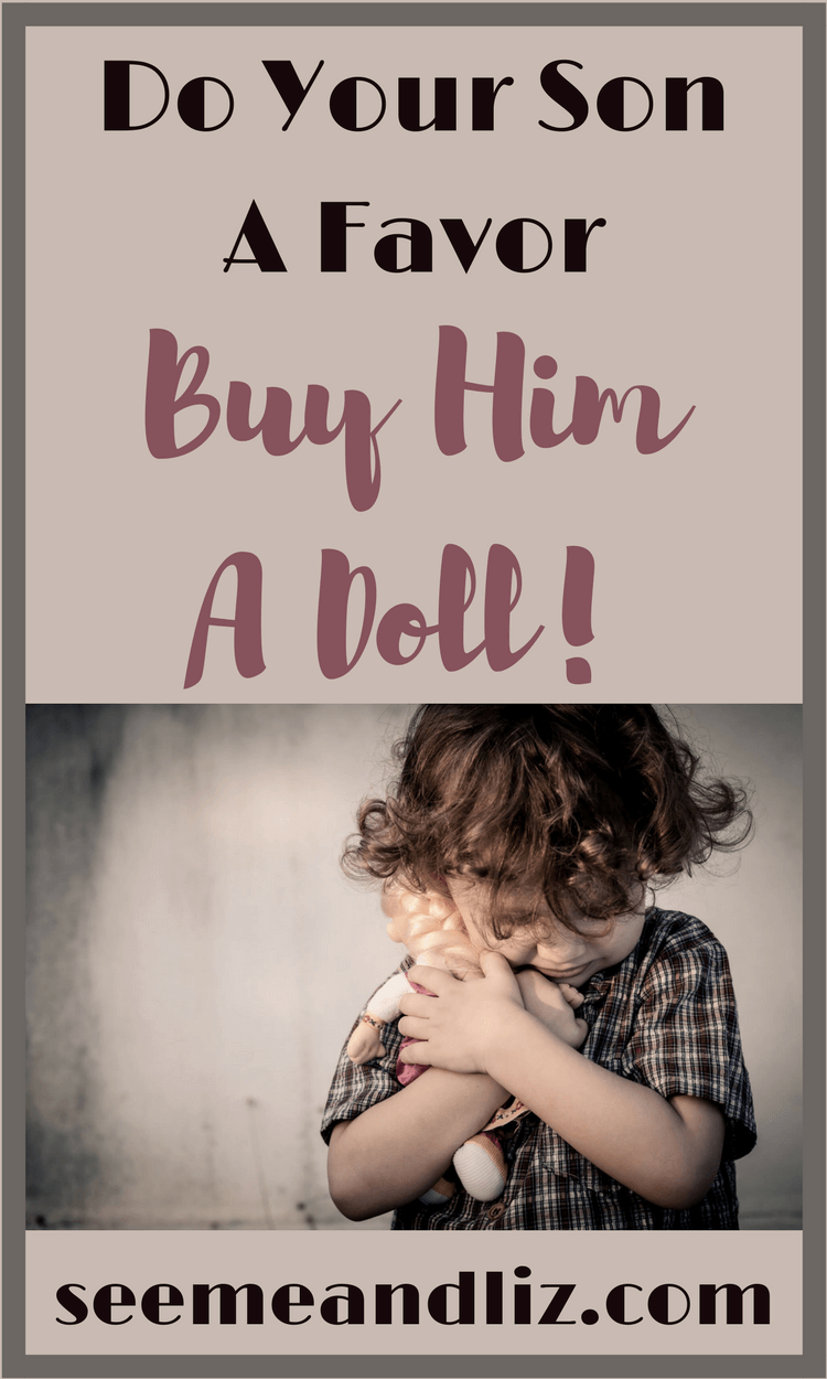 Here is why playing with dolls is great for boys language development and learning