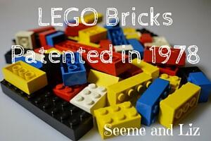 LEGO bricks patent 1978