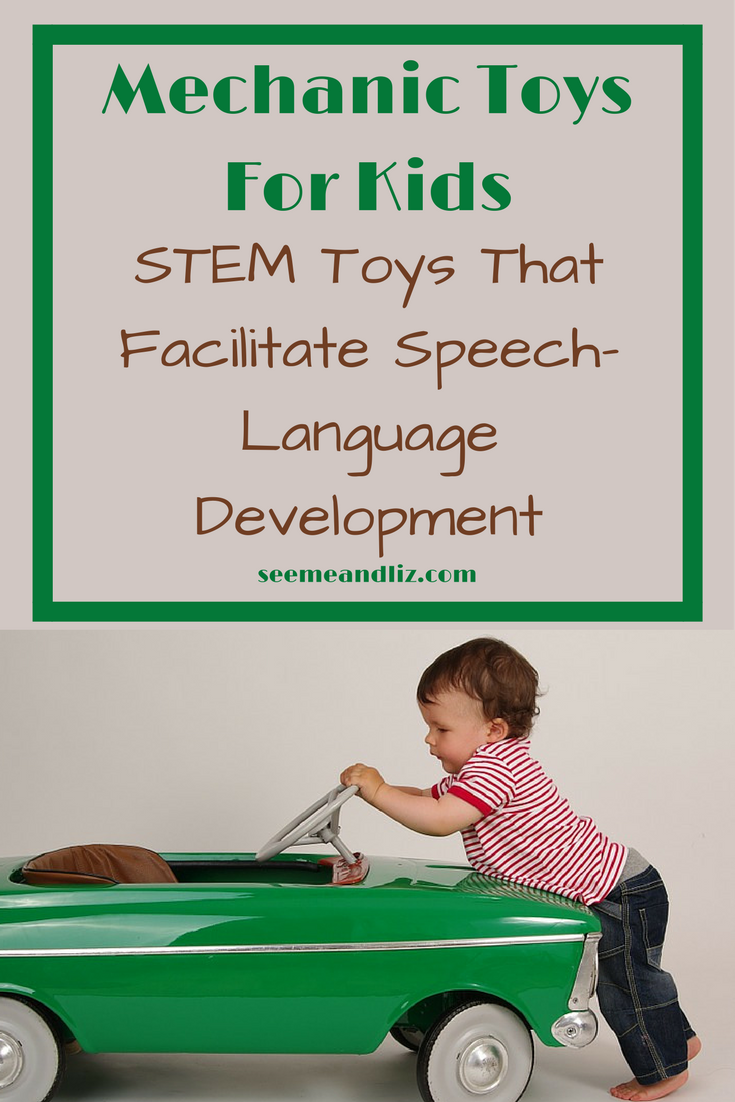 Mechanic Toys For Kids are great STEM toys for toddlers, preschoolers and school age kids. Click to find out how your child will learn by playing.