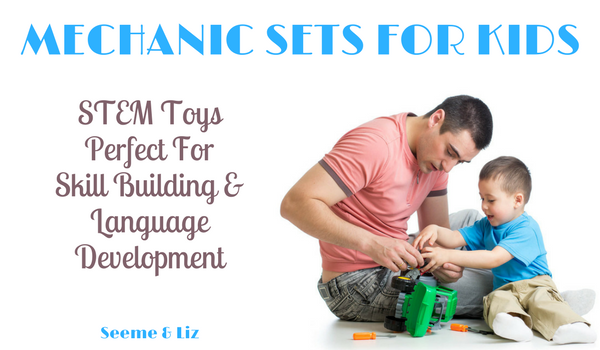 Mechanic Toys For Kids Boost Language Skills
