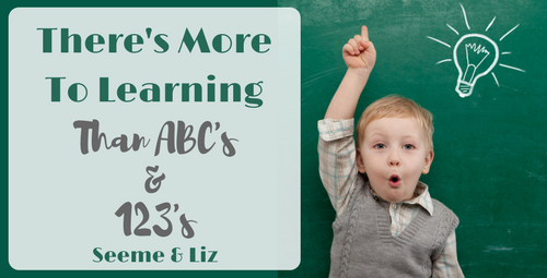 There is more to learning than academics in child development