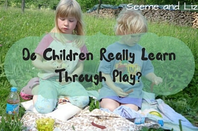 do children learn through play essay Children do not develop in stages as traditionally defined  for example, in  pretend play the understanding of concrete social roles, such as that of a doctor.