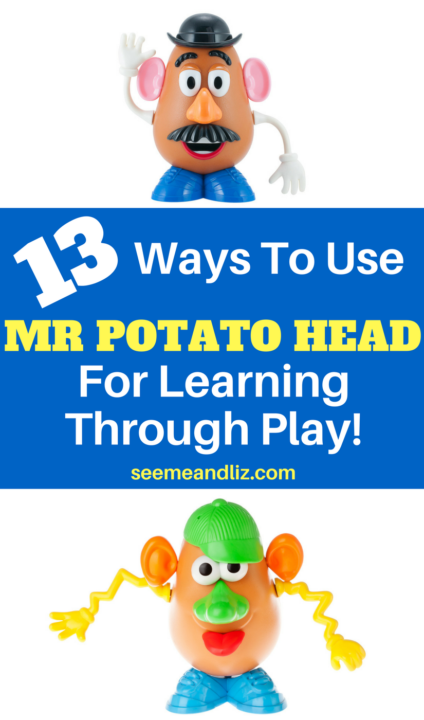 photograph relating to Mr Potato Head Printable Parts named 13 Child Finding out Functions Working with Mr. Potato Mind Seeme