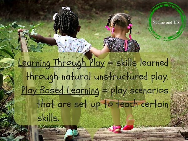 Do children learn through play