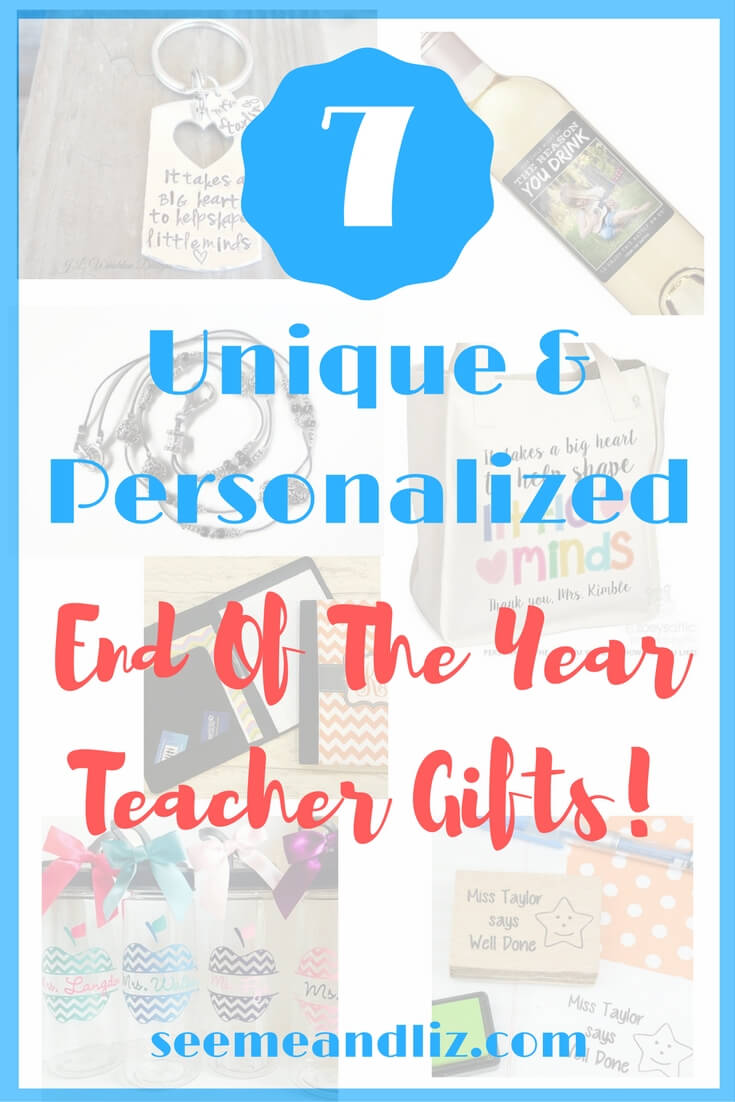 7 teacher gift ideas that are personalized and unique