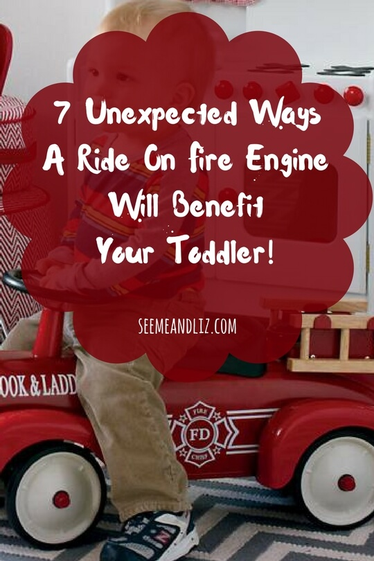 Find out why a toddler ride on fire engine is more that just another toy