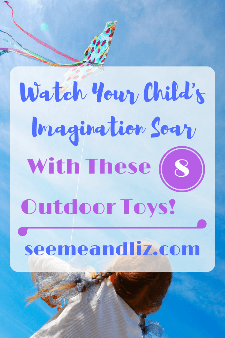 Do you want outdoor learning toys for kids that help with pretend play, creativity and imagination? Check out these 8 and find out how they will help your child!