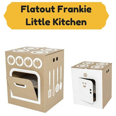 Cardboard Kids Kitchens flatout frankie little kitchen