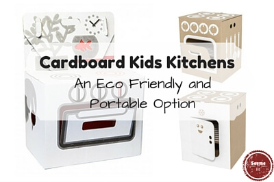 Cardboard Kids Kitchens
