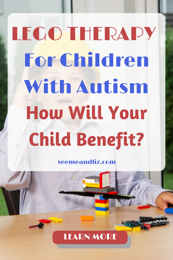 Lego Therapy For Children With Autism. Click to see how your child can benefit! #LEGO #ASD #Autistic #therapy