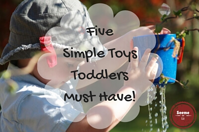 Simple Toys Toddlers Love