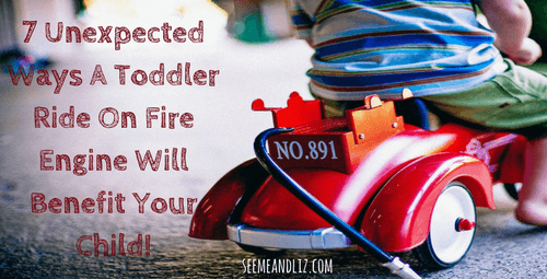 7 Ways a Toddler Ride On Fire Engine can boost language development