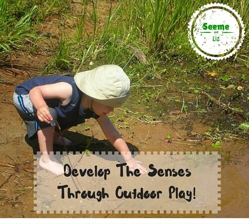 benefits of outdoor play for preschooler development of senses