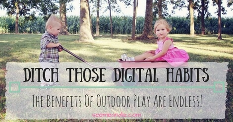 benefits of outdoor play for preschoolers