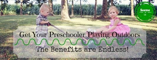 benefits of outdoor play for preschoolers
