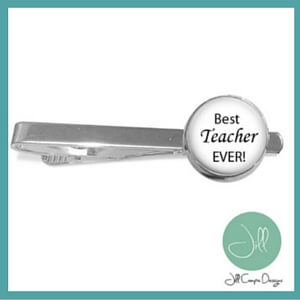 male teacher appreciation gifts tie clip