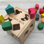 Baby registry toys wooden shape sorter