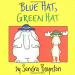best books to read to babies repetitive lines blue hat green hat