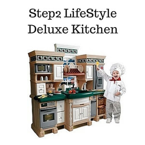 Kitchen sets for older kids step2 lifestyle delux kitchen for Best kitchen set for 4 year old