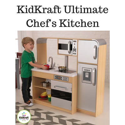 Kitchen Sets For Older Kids Kidkraft Ultimate Chefs Kitchen